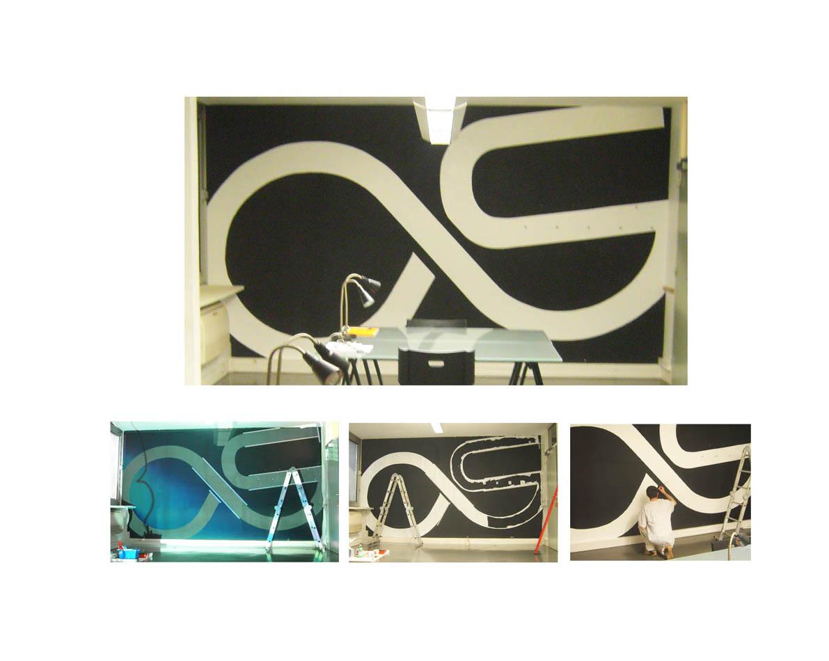 Création intérieure Chambéry noir et blanc FRNCK