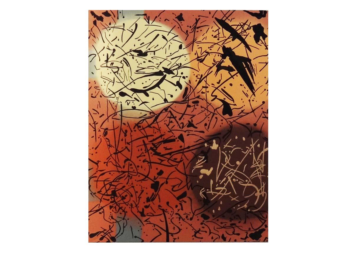 Toile FRNCK Création abstraite - Nivolas Vermelle - 2012