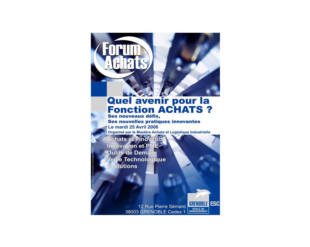 Infographie FRNCK créations pour Grenoble Ecole de Management.