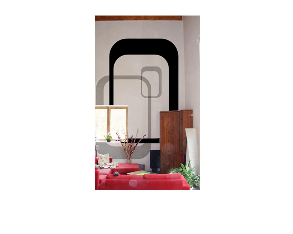 Décoration intérieur d'un salon de maison dans le département 38