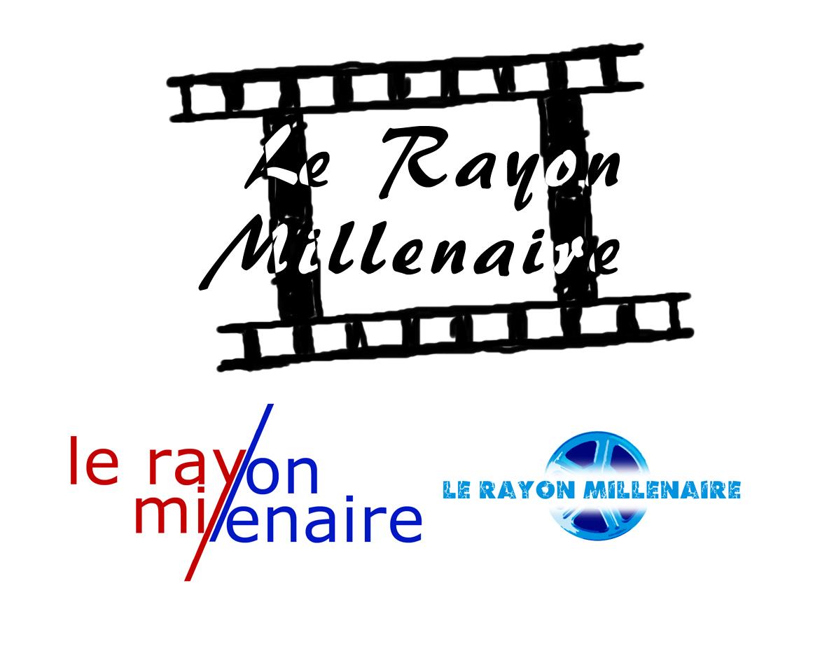 Création d'un logo pour une association cinématographique parisienne Le Rayon Millenaire